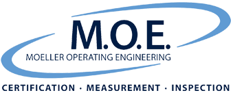M.O.E. GmbH | ZERTIFIZIERUNG – MESSUNG – INSPEKTION Logo
