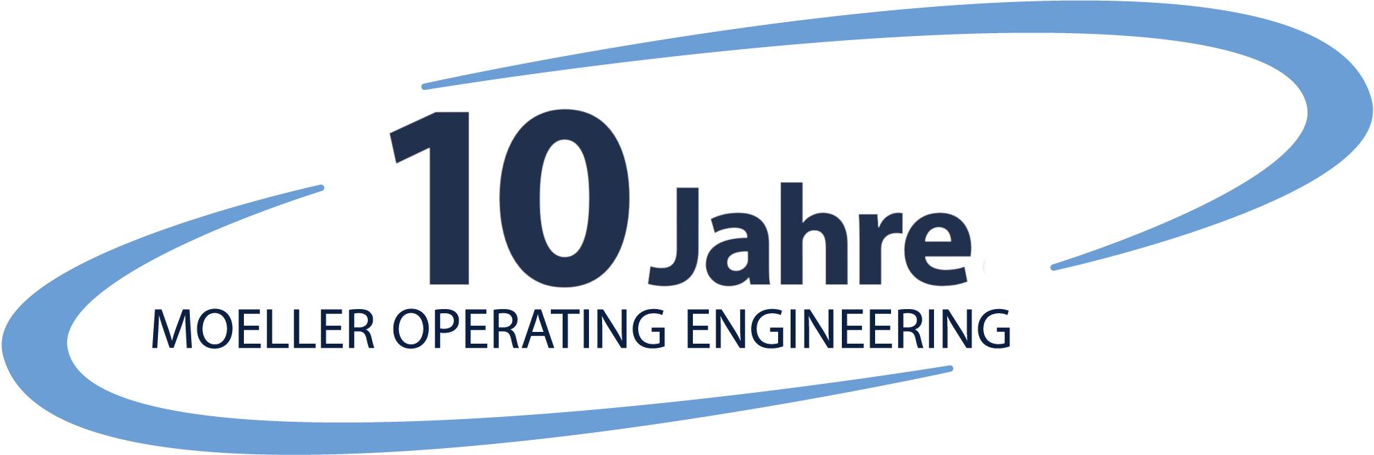 Logo 10 Jahre M.O.E.